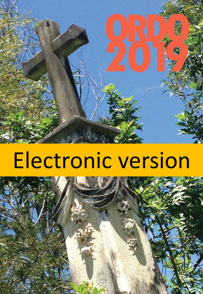 Ordo 2019 Electronic Version - Liturgy Brisbane