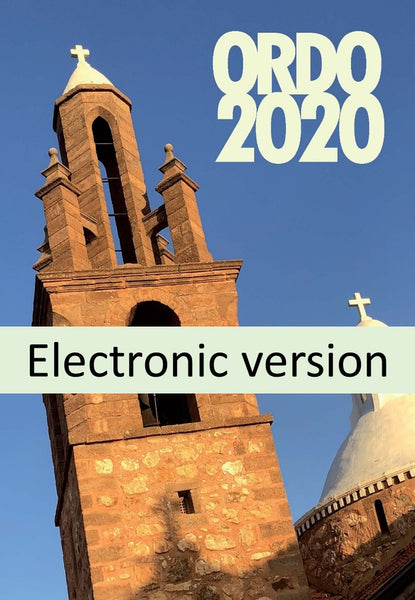 Ordo 2020 Electronic Version - Liturgy Brisbane