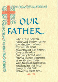 RCIA Our Father Certificate - Liturgy Brisbane