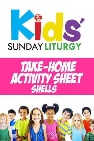 Kids' Sunday Liturgy - Activity Pages - Liturgy Brisbane