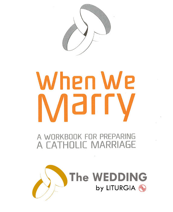 Combined When We Marry and The Wedding by Liturgia - Liturgy Brisbane