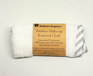 Bamboo make-up removal cloth