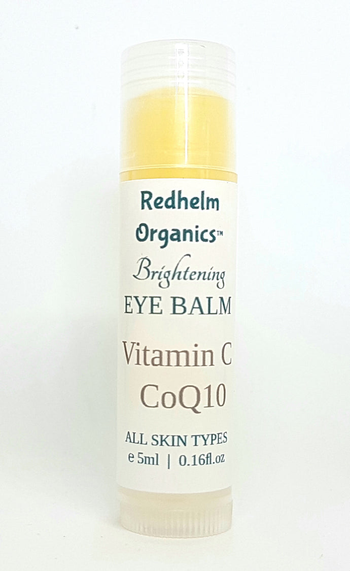 Brightening Eye Balm with Vitamin B, C, E and CoEnzyme Q10 4g BPA-Free