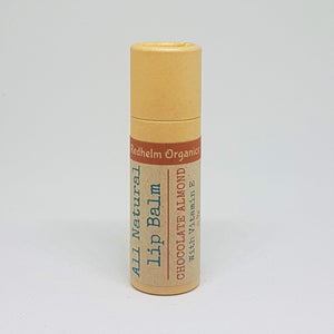 Natural Lip Balm Chocolate & Almond with Vitamin E 9g