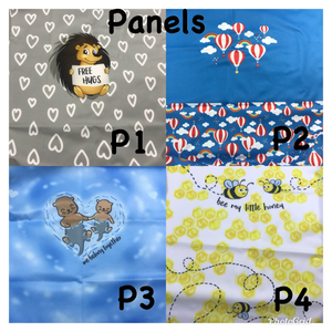 One Size Pocket Cloth Diaper - Panels