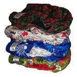 One Size Cloth Diapers - Christmas