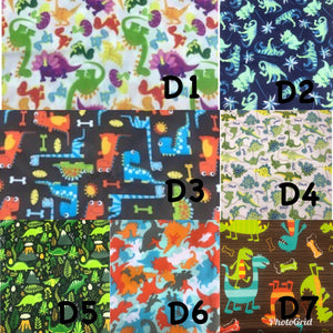 One Size Pocket Cloth Diaper - Prints