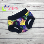 Abstract Ruffles BK Undies