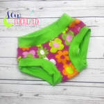 Neon Flower BK Undies