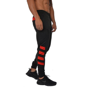 Striped Slim Fit Soccer Pants - 💦Spunk Trunks