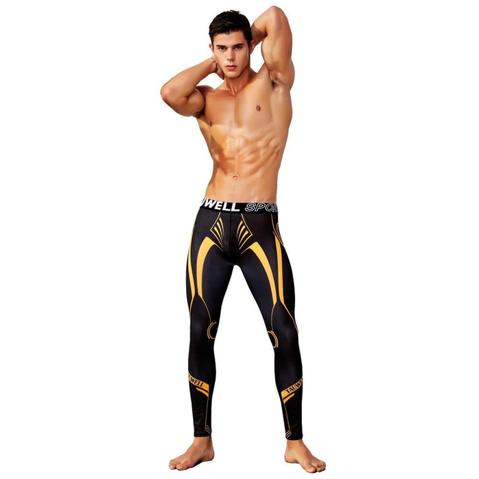 TAUWELL SPORT Tron Compression Tights - Spunk Trunks