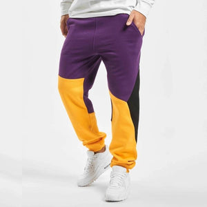 Color Blocked Retro Joggers - 💦Spunk Trunks