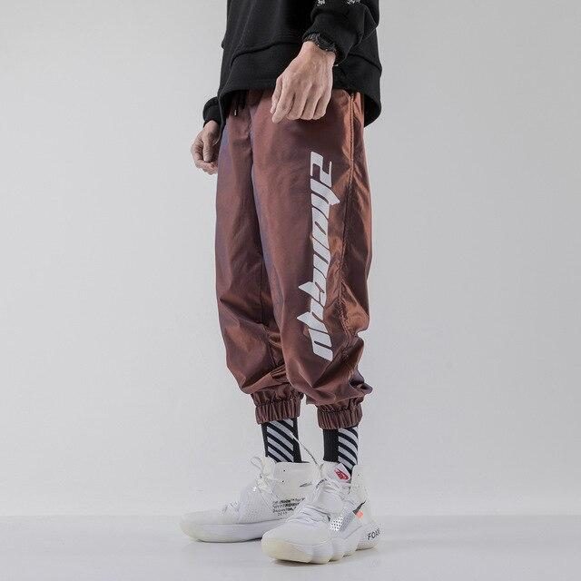 Iridescent Windbreaker Joggers - Spunk Trunks