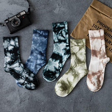 Tie-dye Crew Socks - 💦Spunk Trunks