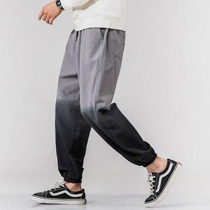 Two Tone Dip Dye Joggers - Spunk Trunks