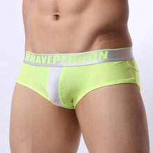 BRAVE PERSON Jacquard Brief | Spunk Trunks