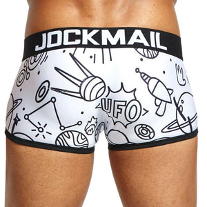JOCKMAIL Space Invaders Boxer Brief | Spunk Trunks