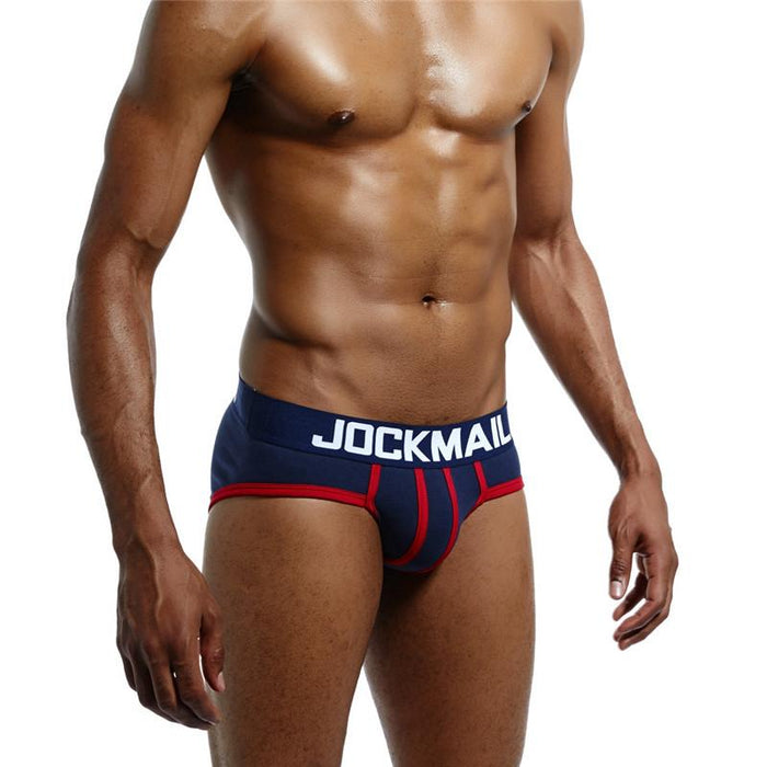 JOCKMAIL Double Pipe Cotton Brief | Spunk Trunks