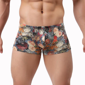 Monet Floral Boxer Brief - 💦Spunk Trunks