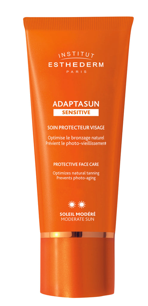 Institut Esthederm Adaptasun Sensitive Protective Face Care Moderate Sun 50ml