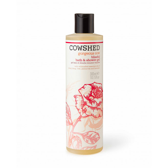Cowshed Gorgeous Cow Blissful Bath and Shower Gel 300ml