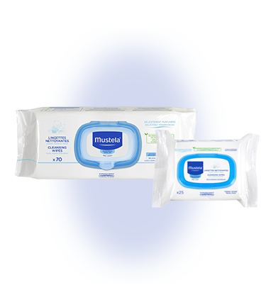 Mustela Facial Cleansing Cloth 25 wipes