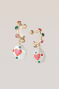 Jelly Heart Earrings