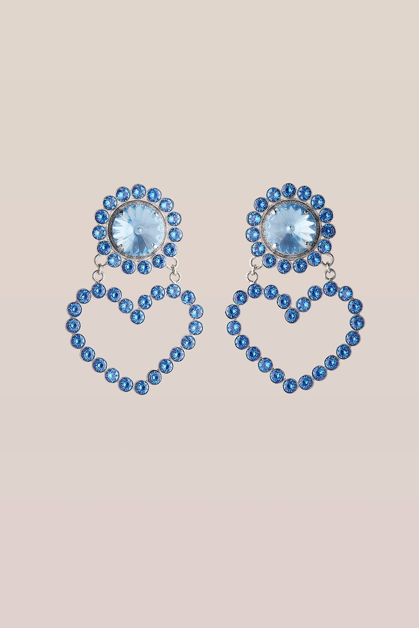 safsafu LOVE ME BLUE EARRINGS Safsafu