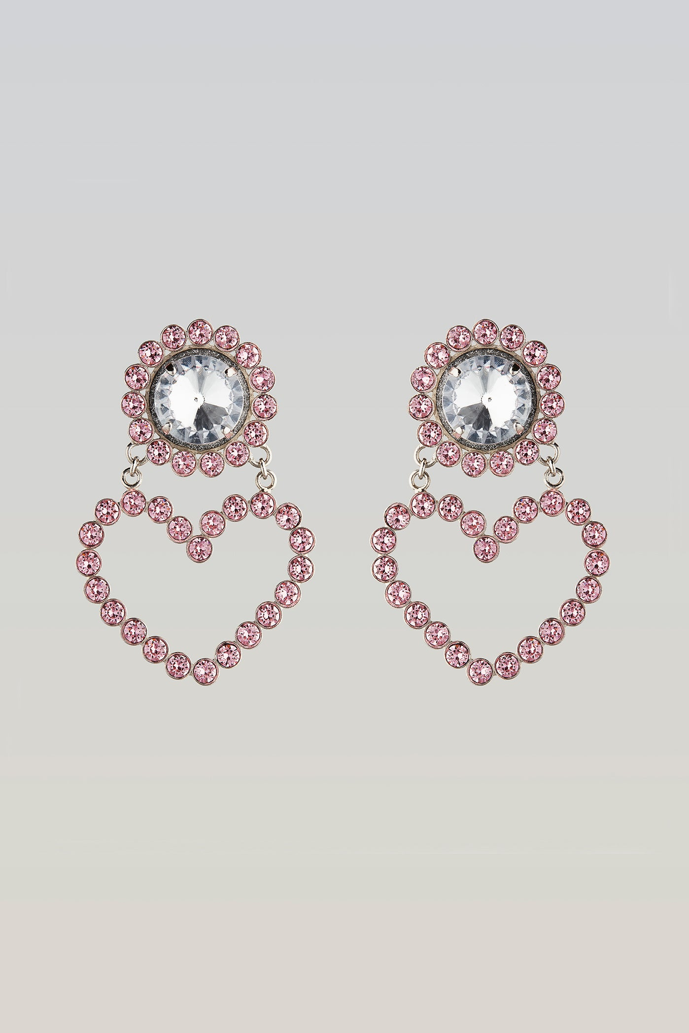 safsafu LOVE ME PINK EARRINGS Safsafu
