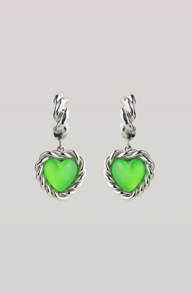 LIMELIGHT NEON GREEN EARRINGS