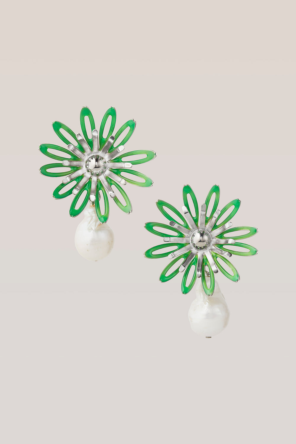 safsafu NEON BLOOM EARRINGS Safsafu