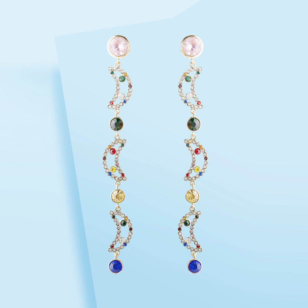 LONG MOONS EARRINGS