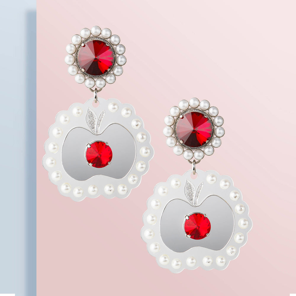 FORBIDDEN APPLE EARRINGS