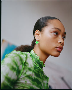 Miss Limelight Neon Green Earring