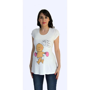 Maternity graphic tees