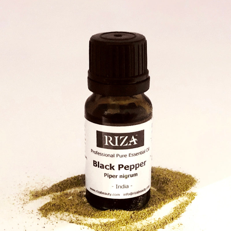 Black Pepper Essential Oil - Piper Negrum India - 10ml