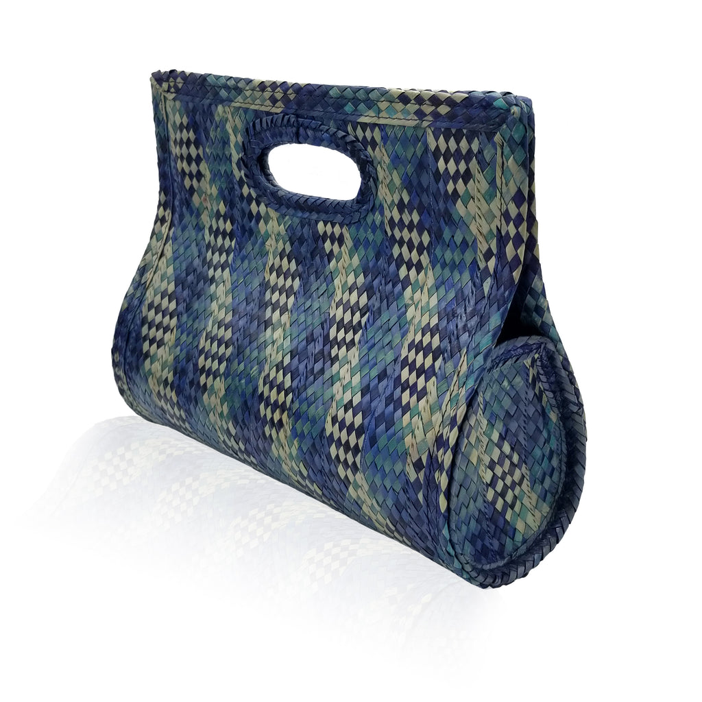 Karen handbag 'Plaid blue'