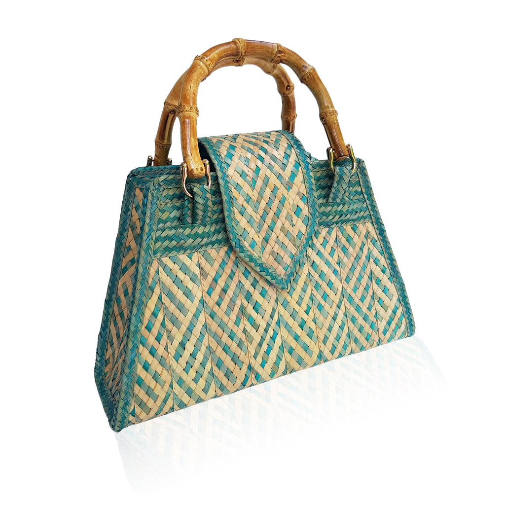 Liz handbag 'Aqua Diamond'
