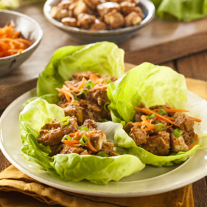 Chilli Chicken Lettuce Wraps
