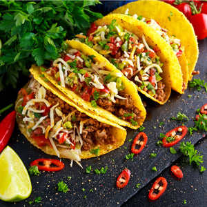Chilli Beef Tacos
