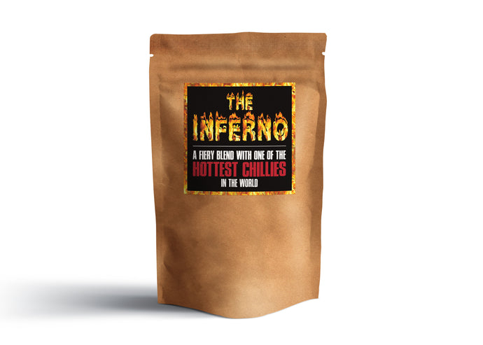 The Inferno - Amazing All Purpose HOT & SPICY Meat rub and Seasoning! 225g