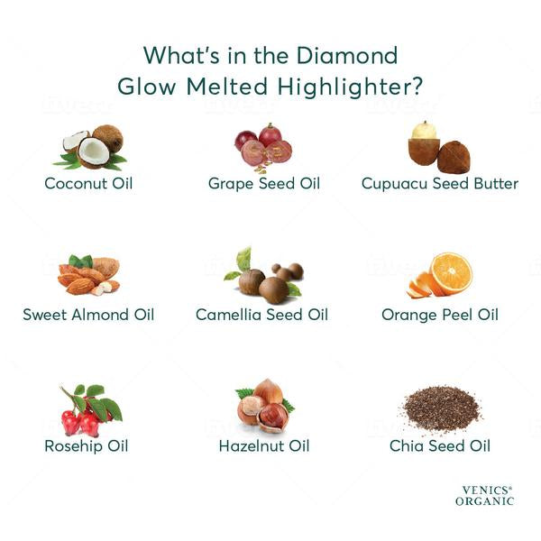 Diamond Glow Organic Melted Highlighter