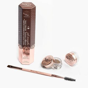 Vegan Eyebrow Gel and Brush Set