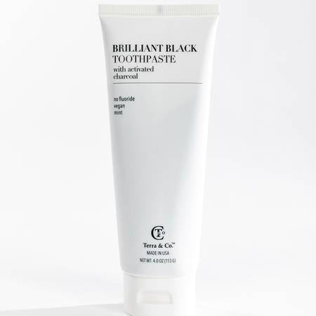 Brilliant Charcoal Toothpaste-4 oz