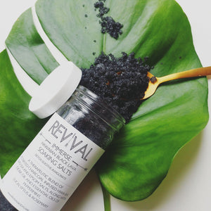 Hawaiian Black Lava Bath Soak |Detox, Soothe & Invigorate|