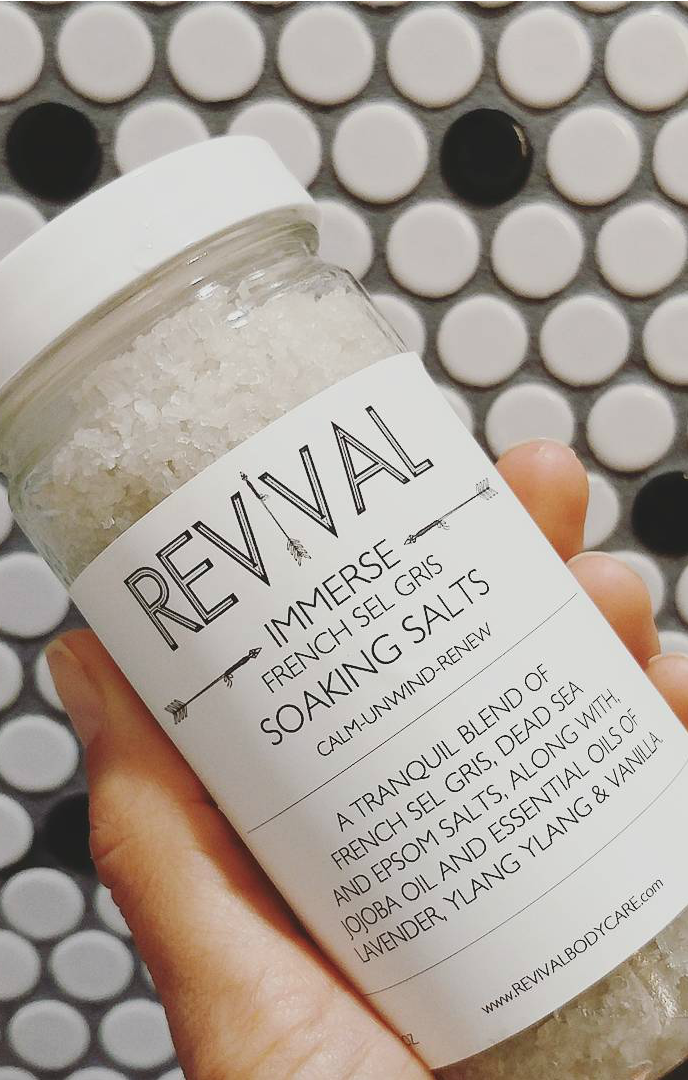French Sel Gris Bath Soak |Calm, Unwind & Renew|
