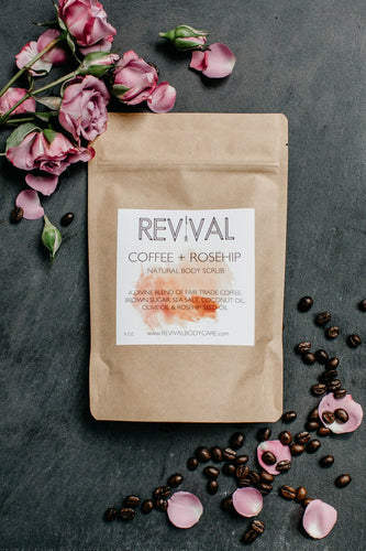 Coffee + Rosehip Body Scrub