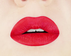 Flamenco Red Matte Liquid Longwearing Lipstick