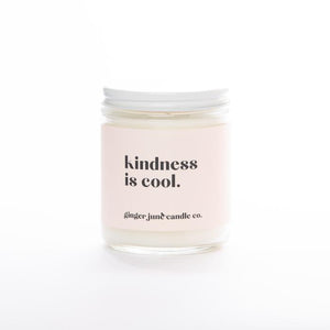 """Kindness is Cool"" Soy Candle"
