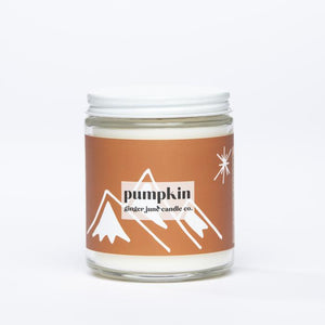 Pumpkin Non-toxic Soy Candle 25% off!